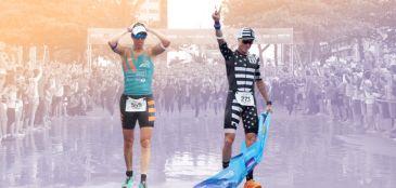 Francisco Sartore e Vanessa Gianinni vencem Ironman 70.3 Alagoas