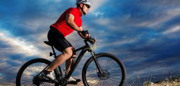 Ciclismo para homens de meia idade