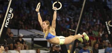 Brooke Wells diz ter disputado CrossFit Games 2017 com osso quebrado
