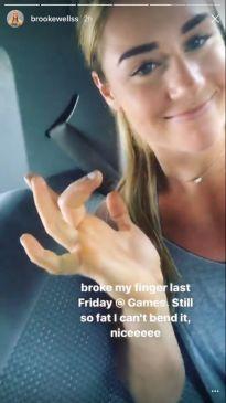 Brooke Wells diz ter disputado CrossFit Games com osso quebrado