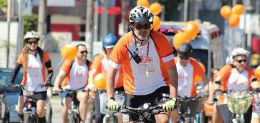 Pedale por uma Causa contra a esclerose múltipla