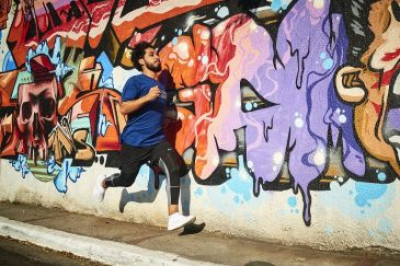 MC Rashid, rap e corrida