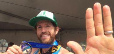 Americano disputa ultramaratona e maratona com 6h de intervalo entre as provas
