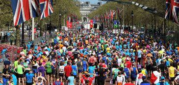 Maratona de Londres faz parte das World Marathon Majors