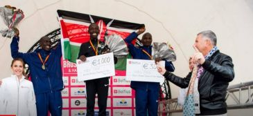 Polêmica sexista em maratona belga termina em arrependimento dos organizadores