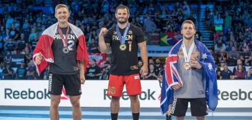 Bronze no CrossFit Games 2017, Rick Garard é pego no doping e perde medalha