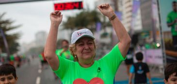 Carioca de 67 anos corre prova de 3 km no Rio após transplante de coração