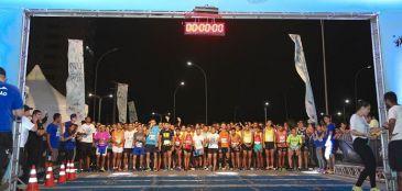 5 mil participaram da UP Night Run, em Fortaleza