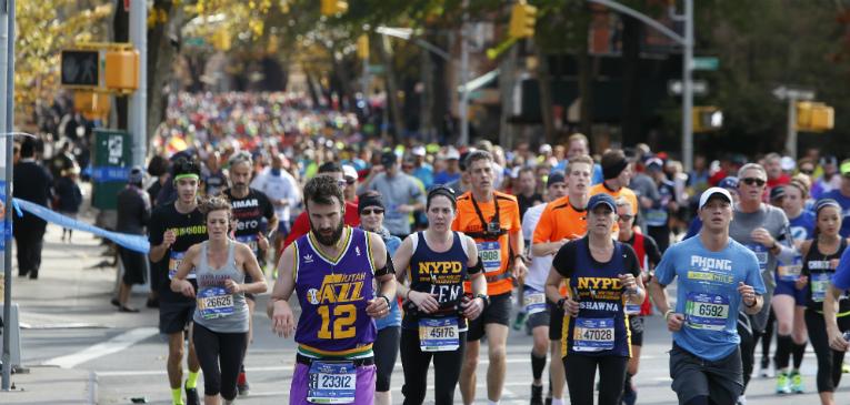 Maratona de NY tem 98,9% de concluintes