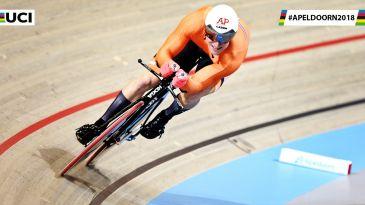 O holandês Jeffrey Hoogland (Fotos: Reprodução UCI)
