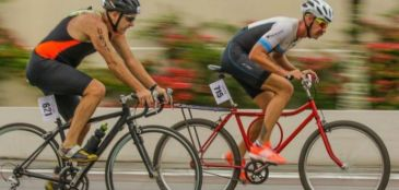 Triatleta é desclassificado por usar Barra Forte em competição no Paraná