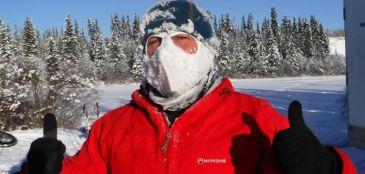 Inglês tem três dedos amputados após correr ultramaratona no norte do Canadá