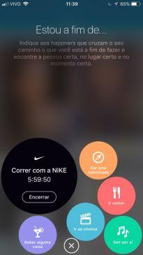 Nike e Happn