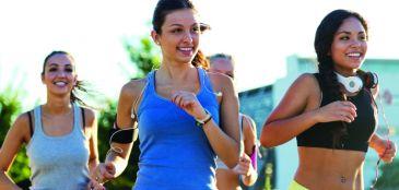 Corrida só para mulheres