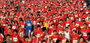 Como a corrida na China se multiplica e ganha popularidade
