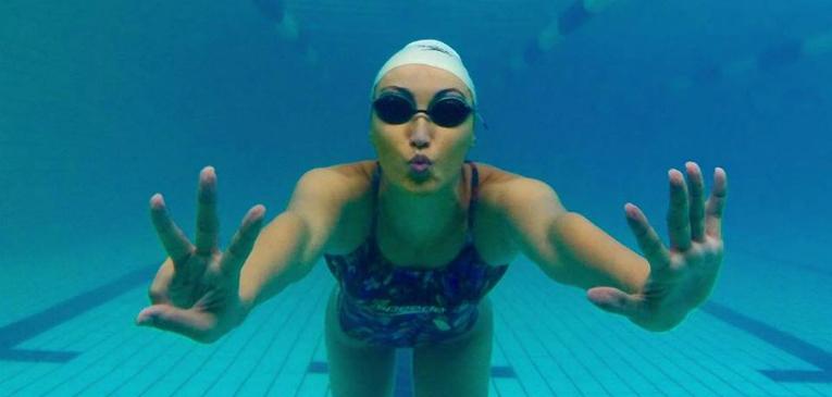 Poliana Okimoto: como nadar em águas frias