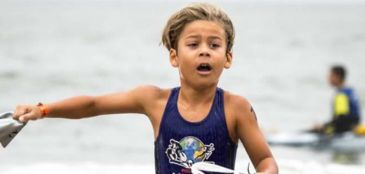 7 anos, títulos e apoio da Mizuno: a história do menino prodígio do triathlon