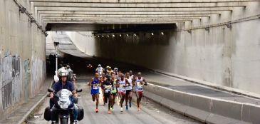 Solonei e Andréia fazem dobradinha no do Brasil no pódio da 24ª Maratona Internacional de São Paulo