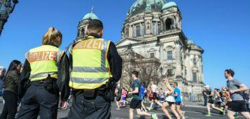 Seis jovens islâmicos são presos na Meia Maratona de Berlim