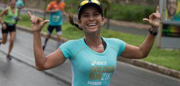 Asics Golden Run Salvador - Roupas leves e hidratação