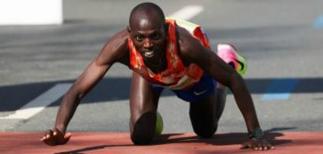 Michael Kunyuga Maratona de Hannover