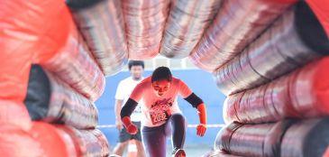 Veja as fotos da Crazy Race, a corrida mais divertida