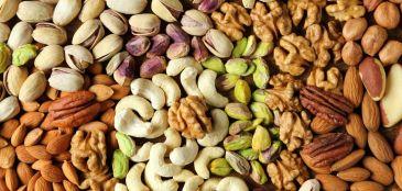 castanhas e sementes