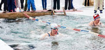 provas diferentes na natação