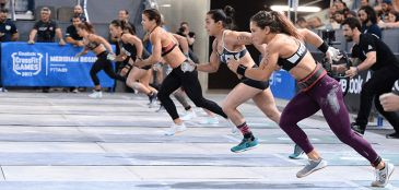 CrossFit Regionals - workouts 1 e 2