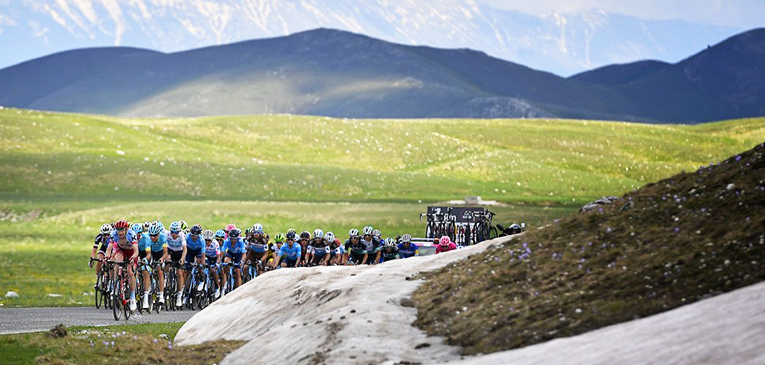Divulgação Giro d'Italia