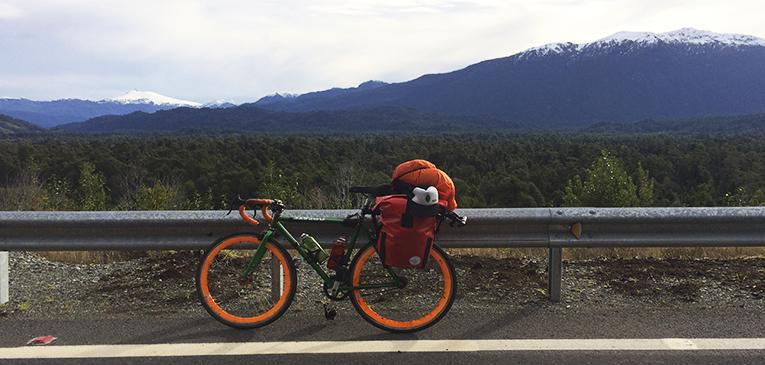 Sozinho em um pedal espiritual pela Patagônia