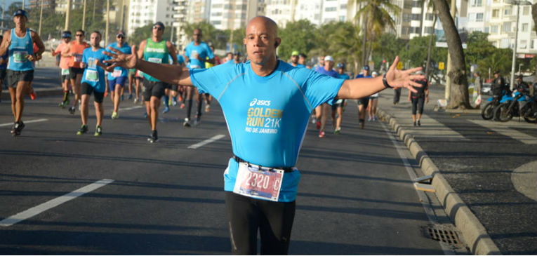 A escolha do vestuário para a Golden Run Rio