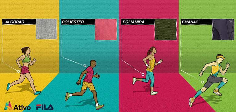 A evolução tecnológica dos tecidos esportivos