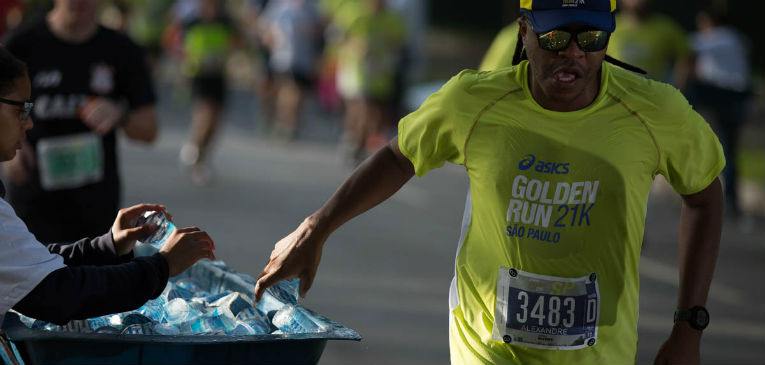 Golden Run: estrutura internacional de hidratação
