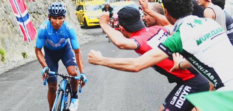 Nairo Quintana leva a etapa mais curta do Tour 2018