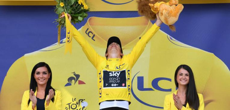 Geraint Thomas é o campeão do Tour de France 2018