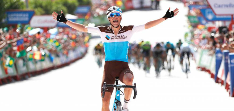 Vuelta a Espanha: Gallopin vence sétima etapa