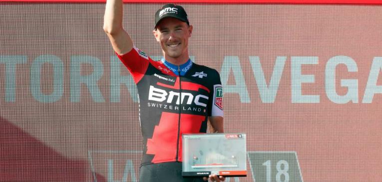 Dennis vence segundo contrarrelógio da Vuelta