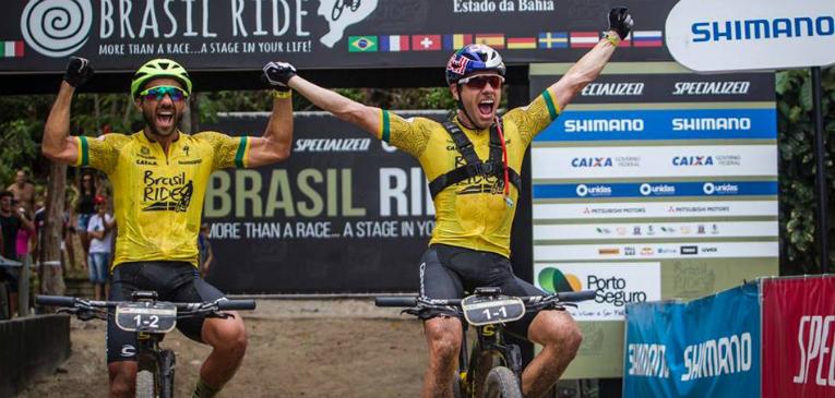 Henrique Avancini é tricampeão da Brasil Ride