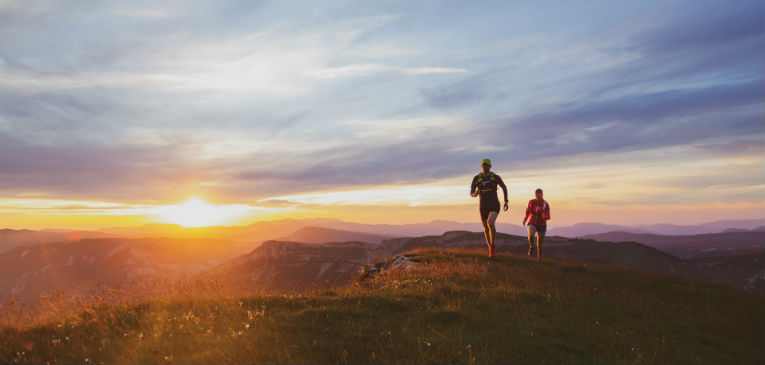 Uma crew trail para desbravar as montanhas