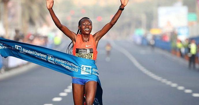 Reprodução Giancarlo Colombo/Dubai Marathon