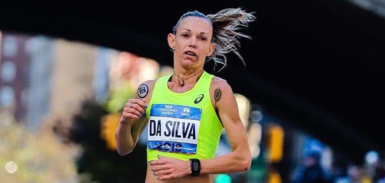 Adriana da Silva, melhor maratonista do Brasil