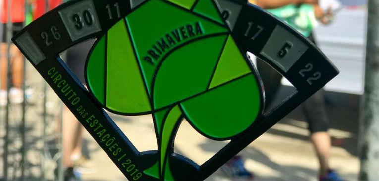 Medalha Circuito das Estações Primavera