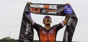 José Belarmino vence o Ironman 70.3