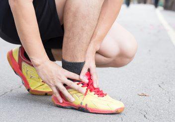 Tendinite no pé: causas e tratamento