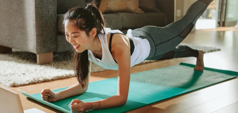 Exercício ajuda contra complicações do covid