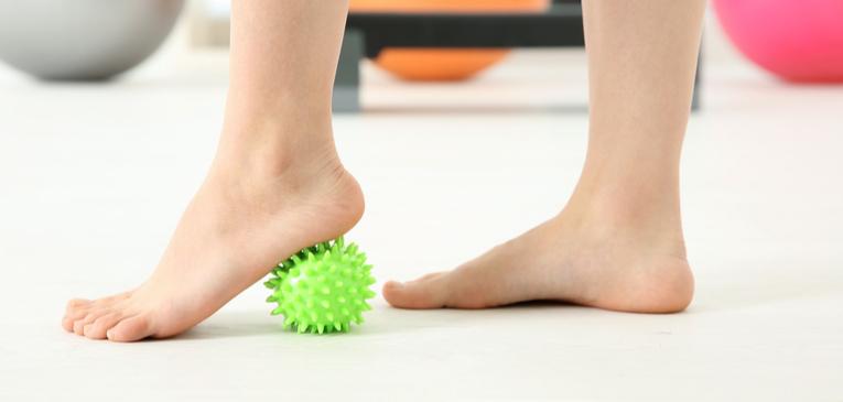Por que é importante fortalecer o pé