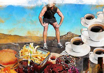 6 erros na alimentação que comprometem o desempenho