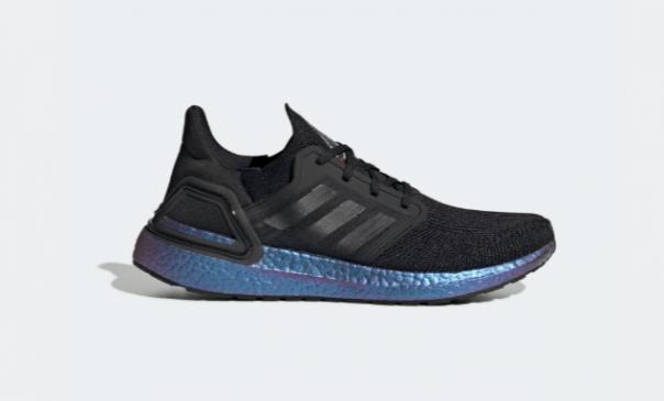 Ultraboost preto e azul