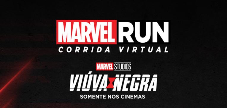 Marvel Run, a corrida virtual para heroínas e heróis